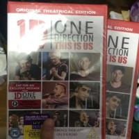 DVD THIS IS US ONE DIRECTION (Impprt dari UK)