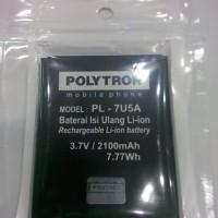 Baterai Polytron W 7450 Wizard Quadra ( Battery,Batre )