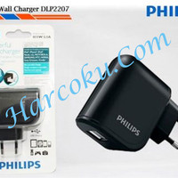 Philips Wall Charger 2,1A - Powerfull Charger 2 USB