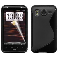 Softcase HTC Desire HD - HTC Salsa - HTC One S HTC One M8 + Antigores