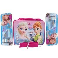 Tas Sekolah Anak Frozen Fever 2 in 1 Selempang + Jinjing Set