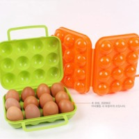 12 Egg Holder ( Tempat Telur saat di lapangan ) isi 12 Piknik Camping