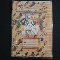 Sampul Buku Coklat Kuarto Princess