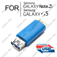 USB 3.0 Female to Micro Male OTG Adapter for Samsung Galaxy Note 3 S5