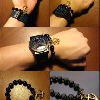 harga aksesoris gelang bracelet batu jangkar buddha budha cowo cowok pria Tokopedia.com