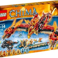 LEGO 70146 LEGEND OF CHIMA Flying Phoenix Fire Temple
