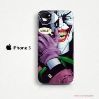 Joker Smile Foto iPhone 5 Custom Hard Case