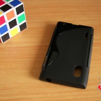 LG Optimus L5 E612 Soft Gel Jelly Silicon Silikon TPU Case Softcase