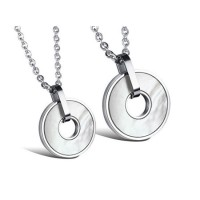 Kalung Couple Stainless Steel - ICCN963