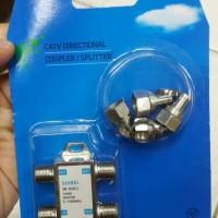 Splitter/ cabang Antena merk Shibei 3 cabang/ CATV Directional Coupler