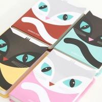 Kaka Cat Ruled Notebook - Large / Buku Tulis / Buku Catatan / Notebook