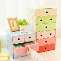 DIY Cardboard Cabinet / Lemari Mini / Laci Mini