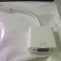 Mini Displayport / Thunderbolt to VGA Adapter for apple/macbook