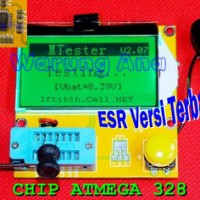 harga Esr Meter Versi Terbaru Chip Atmega 328 Tokopedia.com
