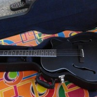 Gitar Fiber akustik with hardcase