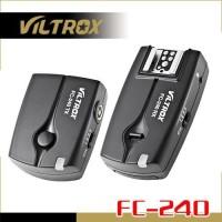 Viltrox 3-in-1 2.4GHz Wireless Flash Trigger FC-240/C1 -for Canon DSLR