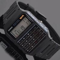 jam tangan anak-anak calculator digital original casio garansi 1th
