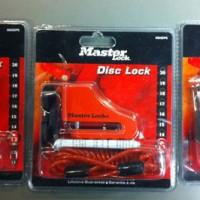 Brake Disc Locks Kunci Gembok Motor Cakram Padlock REM Lock Pengaman