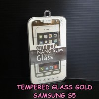 harga Tempered Glass Gold Samsung S5 Tokopedia.com