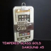 tempered glass gold samsung a5