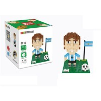 Lego Nano Block Weagle Football Lionel Messi