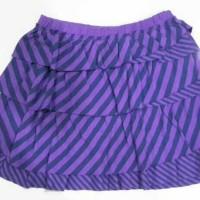 old navy purple stripes skirt size m