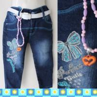 Celana jeans pita belt
