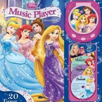 Disney Princess Music Player Storybook with 20 Tunes