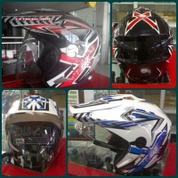 Helm Trail Cross Half Face Halfface X-ride Xtreme Ride