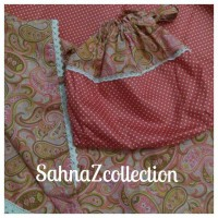 mukena katun jepang sahnaz collection