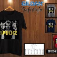 Kaos Gildan Softstyle The Police 02