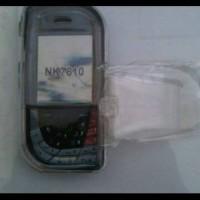 harga CoverCase Mika Transparan Nokia 7610 Ketupat. +penjepit di sabuk Tokopedia.com