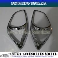 harga Garnish Lampu Depan dan Belakang Mobil Toyota Agya Model Sporty Tokopedia.com