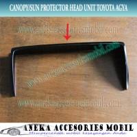 harga Sun Protector/sun Shade/ Sun Visor/ Canopy Head Unit Toyota Agya Tokopedia.com