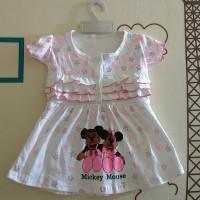 Rok Bayi / Rok Terusan Baby / Mickey Mouse Pink