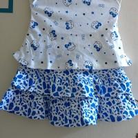 Rok Setelan Bayi / Rok Baby Setelan Hello Kitty Biru
