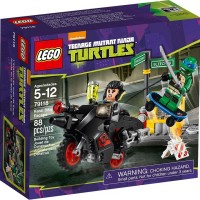 LEGO 79118 TEENAGER MUTANT NINJA TURTLES Karai Bike Escape