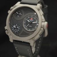 Swiss Army SA2216 Triple Time (BLWH) Leather