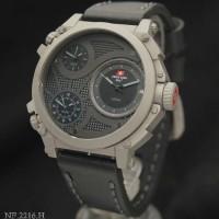 Swiss Army SA2216 Triple Time (GRYBL) Leather