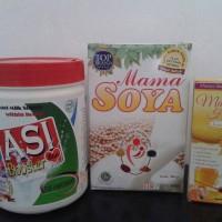 Paket Pelancar Asi (Mama Soya, Mama Honey & Asi Booster Tea)