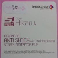 Oppo R7 Anti Gores Anti Shock Clear, Screen Guard Protector