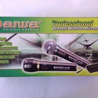 harga N Aiwa Dynamic Wireless Microphone HS-398 Tokopedia.com