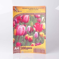 Digital Photo Paper OKTO Premium Mirror High Glossy Inkjet 200gsm