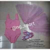 harga baju ballet, baju balet, rok tutu, sepatu balet chandra, sepatu ballet Tokopedia.com