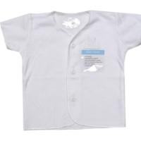 Miyo Putih Baju Pendek 0-3m (1pcs)