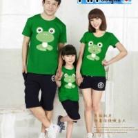 harga Couple Family Frog / Baju Pasangan / Kaos / Kemeja / Gamis / Maxi Tokopedia.com