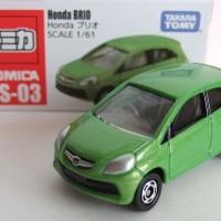 Honda BRIO AS-03 green Tomica Takara tomy
