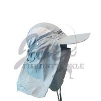 Hammer Head Topi Mancing Model Jepang - Grey