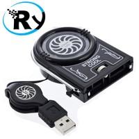 Kipas Laptop USB Mini Vacuum Cooler Fan - NC738 - Black