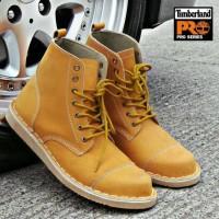 Sepatu Boot Timberland Safety kulit